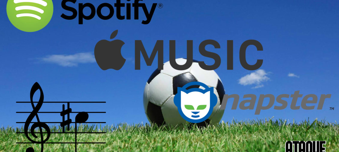 futebol música digital via streaming