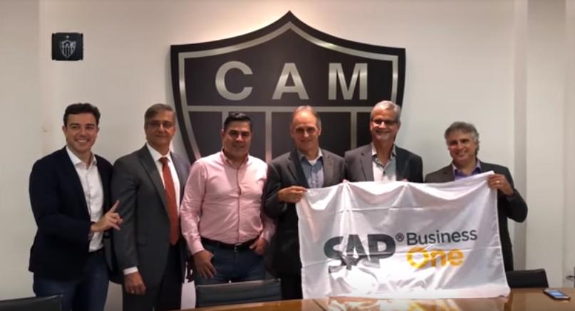Atlético, SAP e Seidor