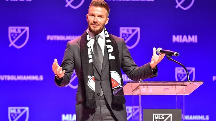 David Beckham na MLS