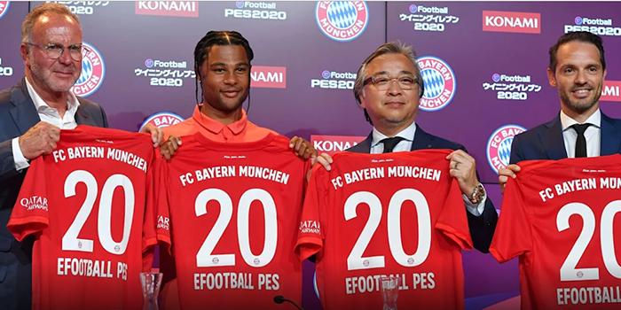 Bayern e Konami